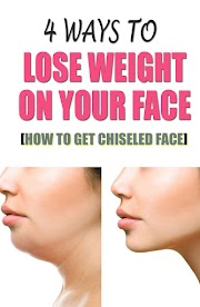 4 Ways To Lose Weight On Your Face - How To Get A Chiseled Face!