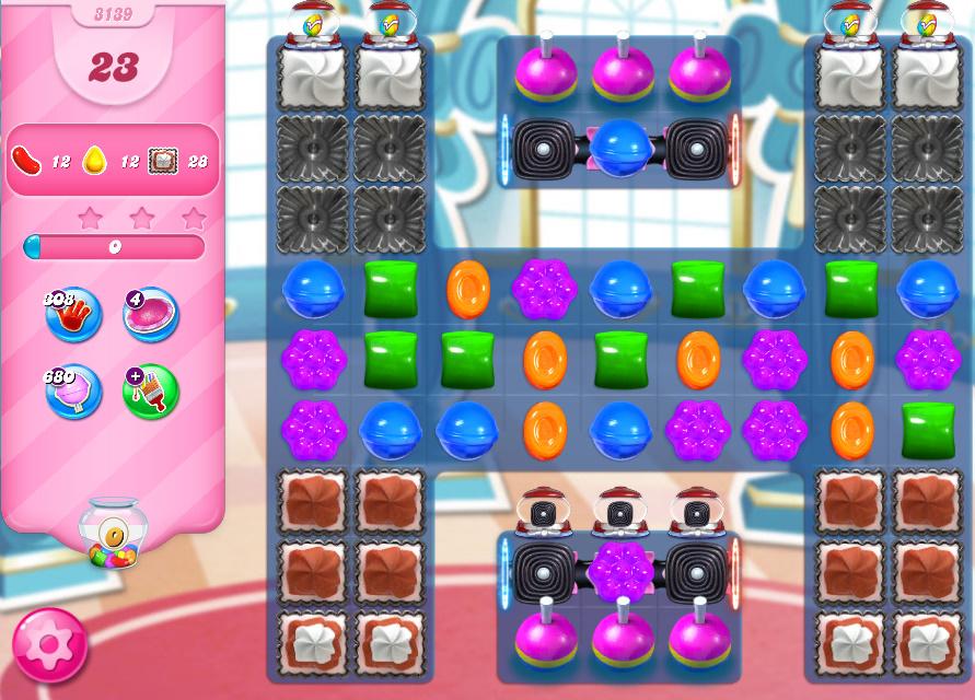 Candy Crush Saga level 3139