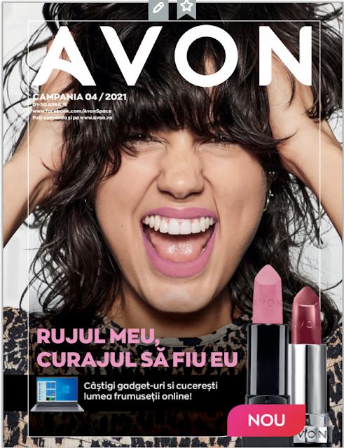 AVON Promotii + Catalog-Brosura  № 4  1-30.04 2021