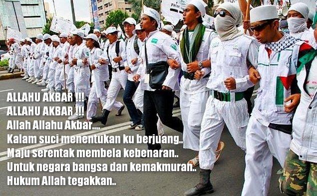 SERUAN JIHAD! 4 November Umat Islam Kepung Istana, Masa Diintruksikan Bawa Bekal dan Tulis Surat Wasiat