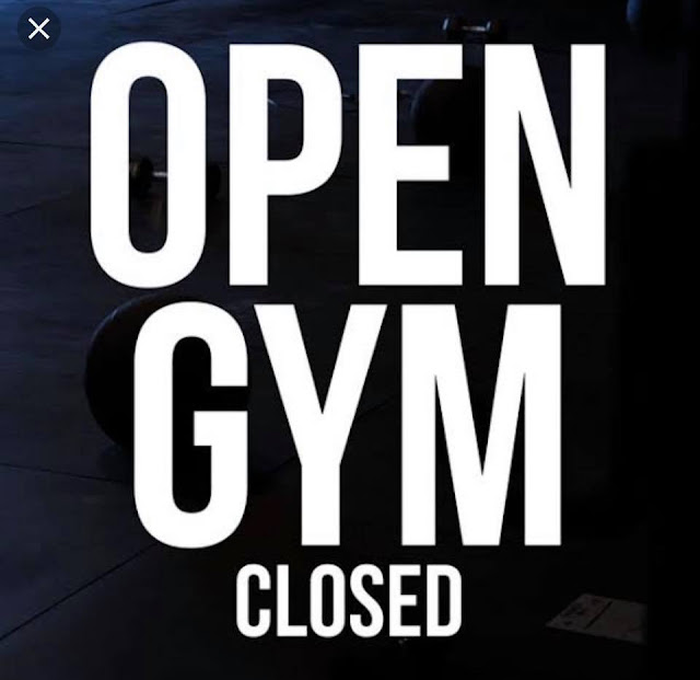 Open gym closed