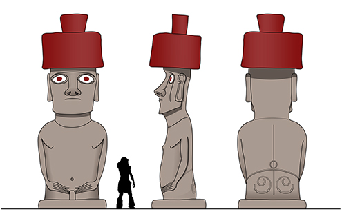 moai-playa-de-anakena-ahu-nau-nau-isla-de-pascua-moais-historia-dibujo-dibujos-la-cuantos-hay-drawings-ilustration-ilustraciones-illustrations-illustration