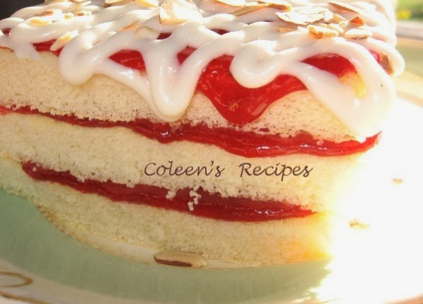 Sponge Cake Jelly Roll Recipe: Coleen's Recipes: NO ROLL JELLY ROLL