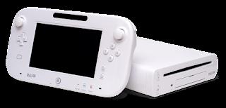 Imagen de la predecesora de la Wii y antecesora de Switch de Nintendo. CPU con unidad de DVD y mando-pantalla táctil inalámbrica