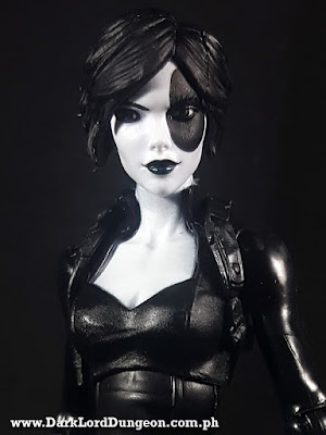 Marvel Legends Domino Head Sculpt