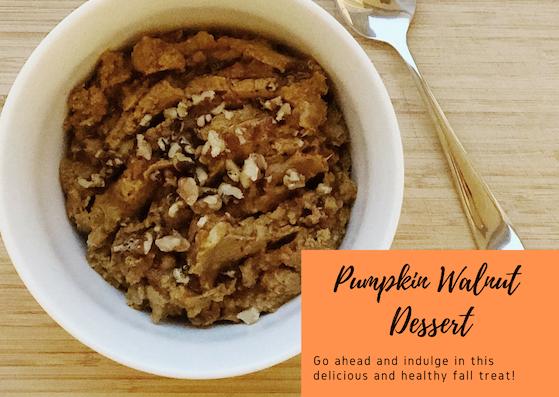 Pumpkin Walnut Dessert