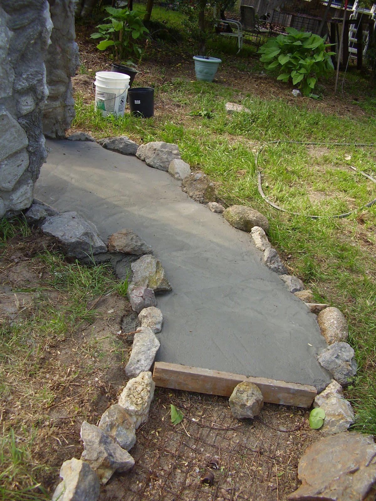 Low Rent Renaissance Concrete Quot Modeling Clay Quot Sidewalk