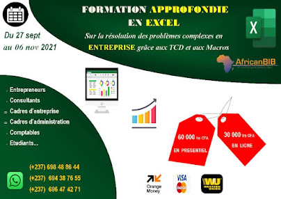 Formation approfondie en Excel