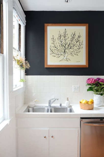 cozinha-parede-escura