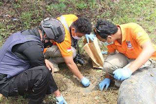 11 bom lontong milik DPO teroris Poso di musnahkan oleh Satgas Madago raya