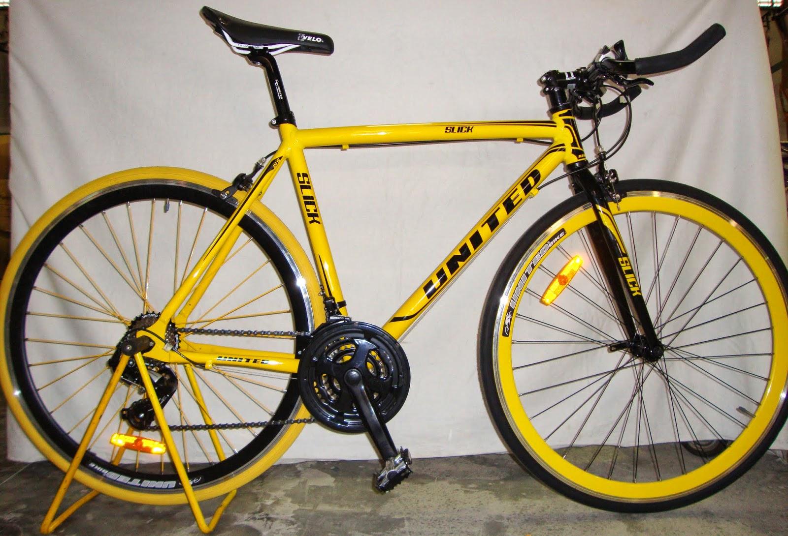 SEPEDA NUSANTARA Sepeda Hibrid United Slick 7.1 Rangka