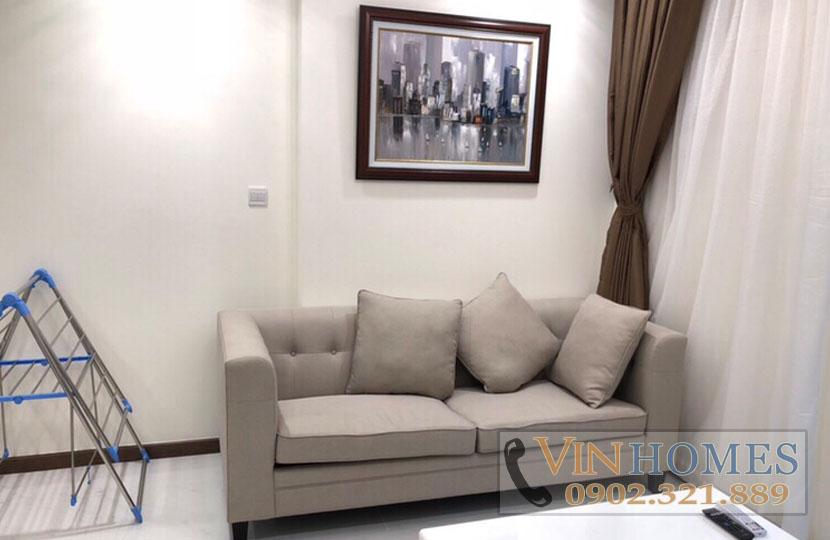 Cho thuê căn hộ cao cấp 1PN Vinhomes Central Park tầng cao L5 - hinh 4