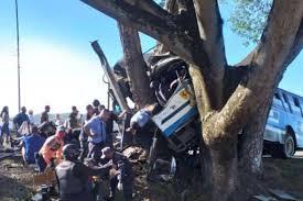 Tragedia en la autopista Tinaquillo-Valencia, la mañana de este sábado 26 de diciembre.