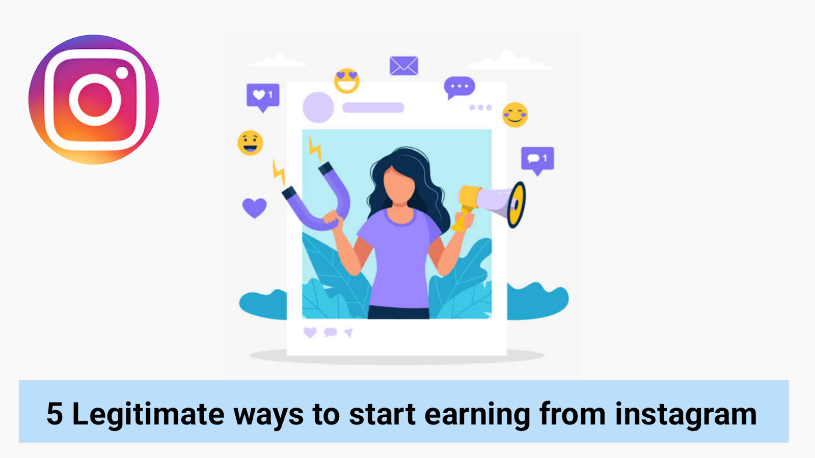 how to earn money from instagram in india how to make money on instagram with clickbank how to make money on instagram without followers How many followers do you need to make money on Instagram? Do Instagram users get paid?