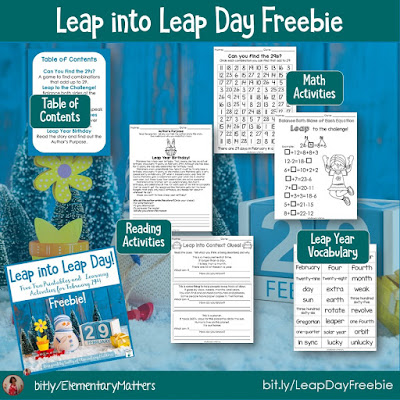 https://www.teacherspayteachers.com/Product/Leap-Year-Activities-Freebie-2418941?utm_source=blog%20post%20freebies&utm_campaign=Leap%20Year%20Freebie