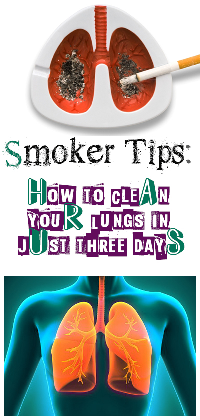 How to Clean your Lungs in Just 3 Days