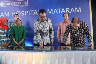Gubernur NTB Resmikan Rumah Sakit Siloam, Perkuat NTB Medical Tourism