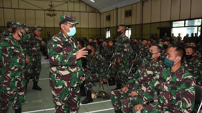 Kodam III/Siliwangi Berangkatkan Prajurit ke Wilayah Timur Indonesia