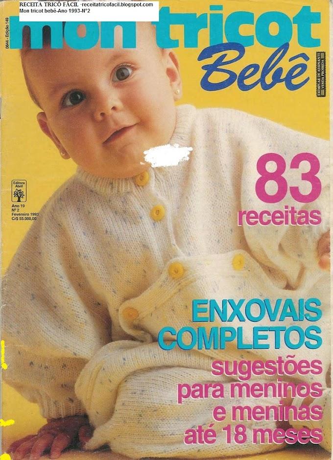 Mon Tricot Bebê-N°2-Fevereiro de 1993