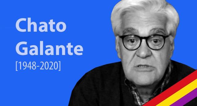 Adiós al luchador Chato Galante, activista y ex-preso del franquismo