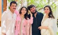 sehrish ali family