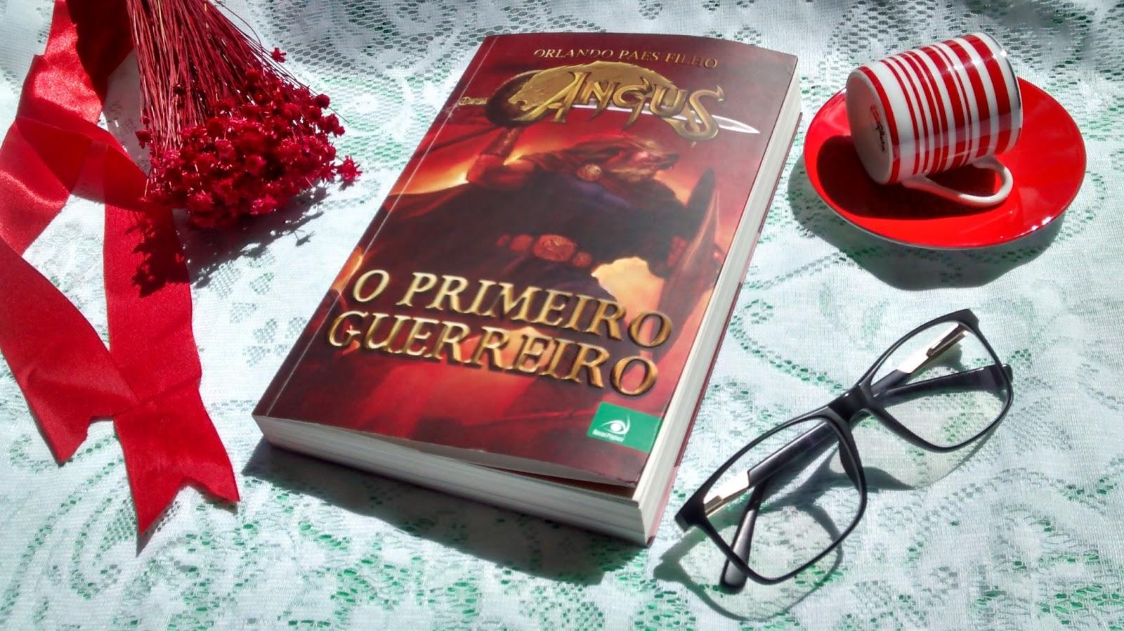 Livro Novo Conceito - Angus - O Primeiro Guerreiro # 1 - Orlando Paes Filho
