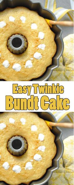 #Easyrecipe #Twinkie Bundt #Cake
