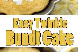 Easy Twinkie Bundt Cake