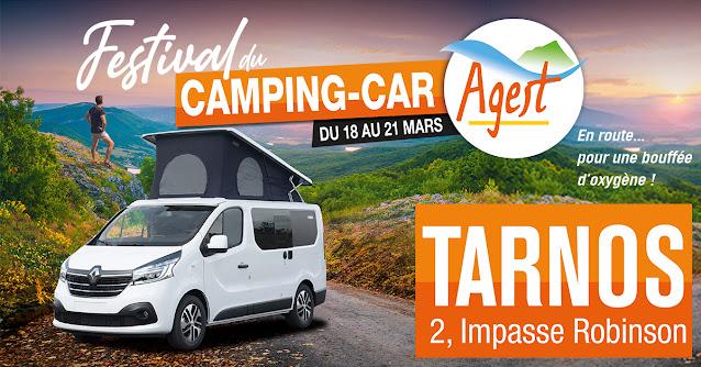 TARNOS : Agest vous invite au Festival du Camping-Car du 18 au 21 mars
