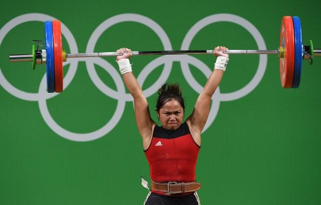 Hidilyn Diaz bags silver Rio 2016