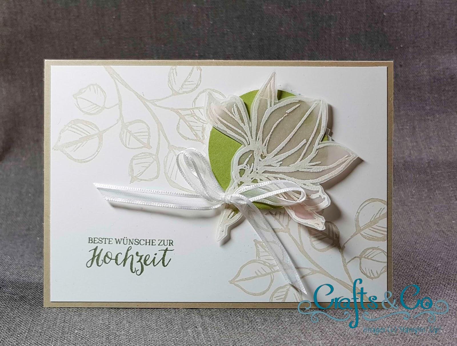 Crafts Co Zarte Hochzeitskarten
