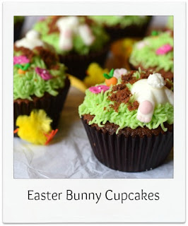 hese Easter & springtime themed cupcakes are so much fun!  They're surprisingly easy to make and would be perfect for children's parties, family get togethers and charity bake sales.
