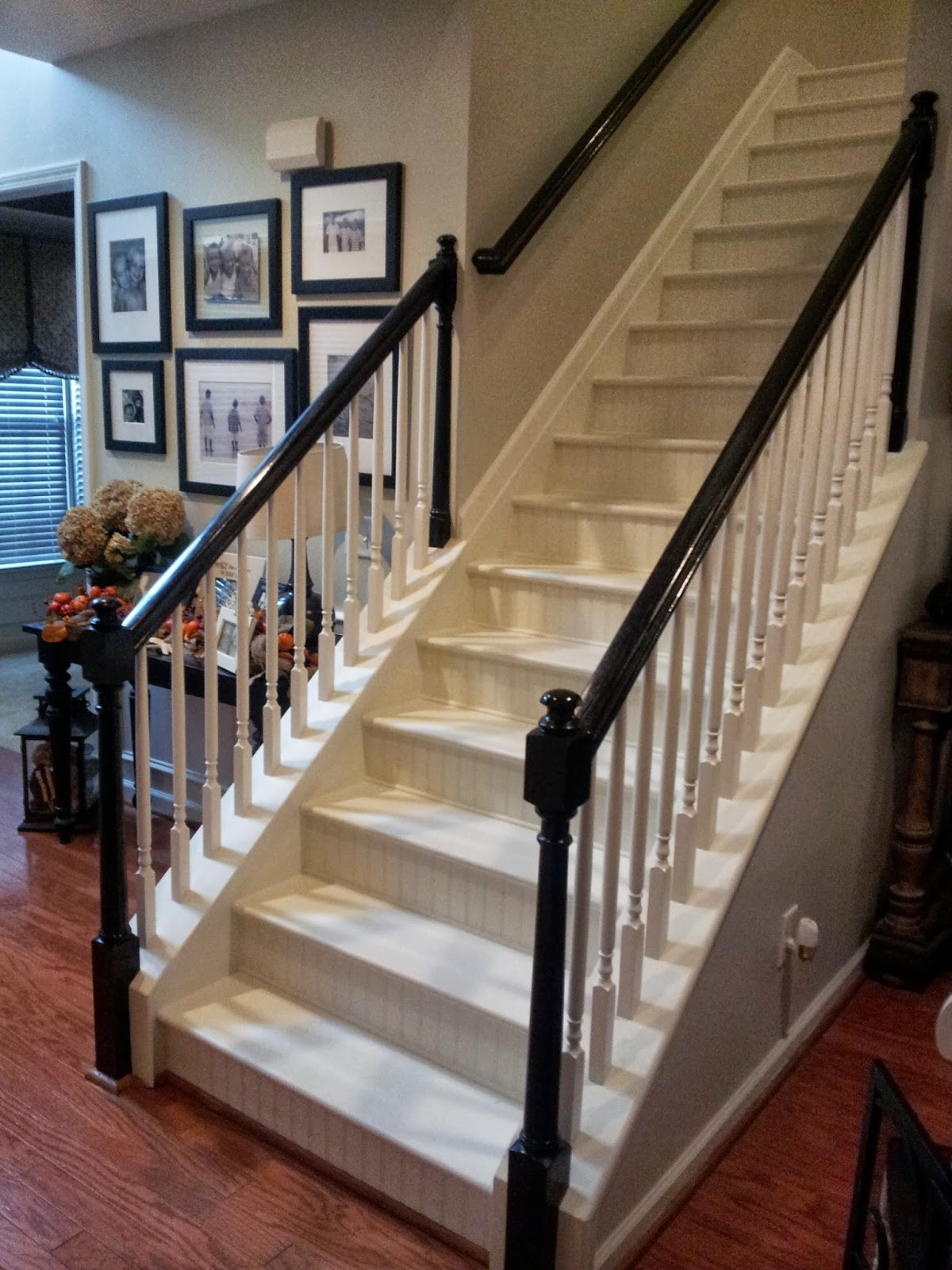 Southern Grace Staircase Remodel  Painting and Staining