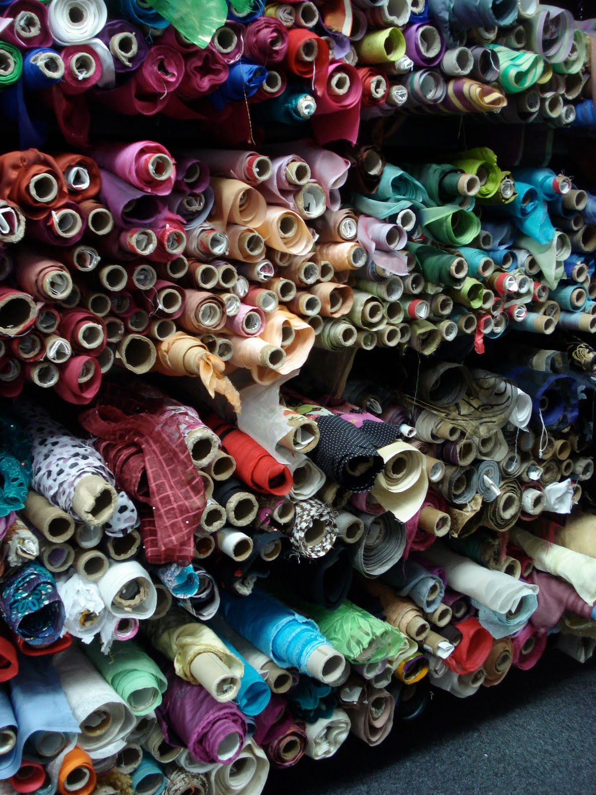 FIT Fashion Student Portfolio: Fabric Swatches