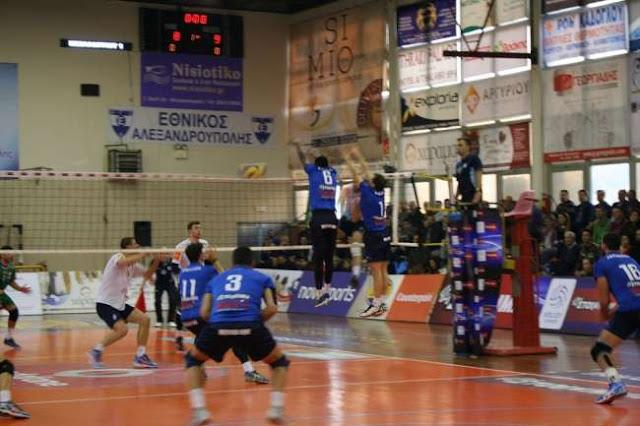 Η Κηφισιά 3-0 τον Εθνικό στην Αλεξανδρούπολη
