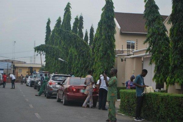 Breaking News: Drama As Oyo Deputy Governor Is Denied Access To Ajimobi's 8th Day Fidau #Arewapublisize