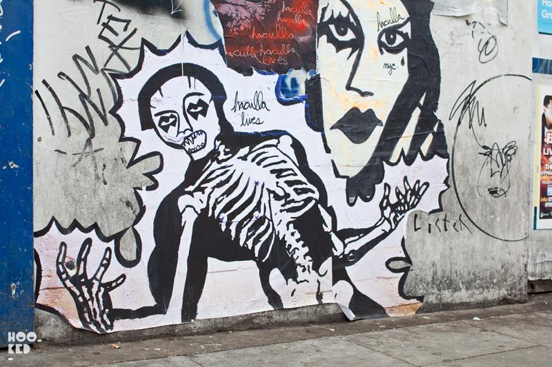 London Street Art by artist Haculla on Redchurch Street