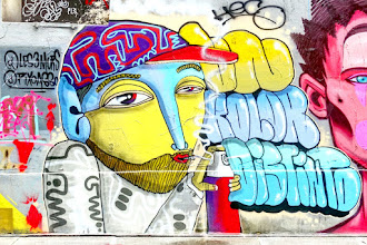 Sunday Street Art : Un Kolor Distinto - cité Riverin - Paris 10