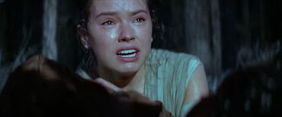 Who is Rey crying dies in Star Wars Force Awakens