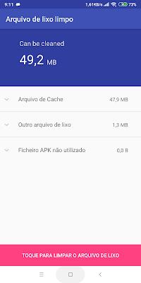 imagens do aplicativo de reparar sistema android