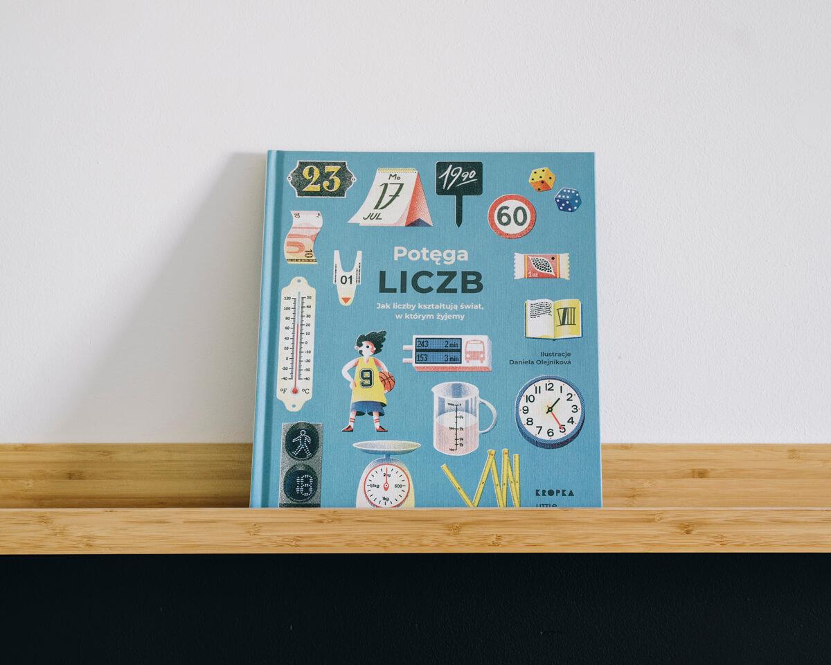 Książka o liczbach dla dzieci