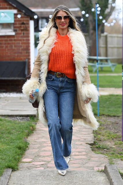 Chloe Sims – The Only Way is Essex TV show filming