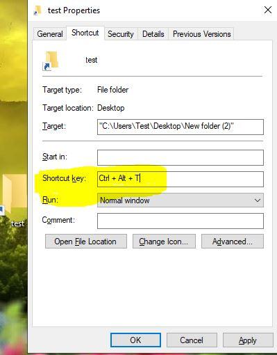 How to Create a Windows Shortcut Key