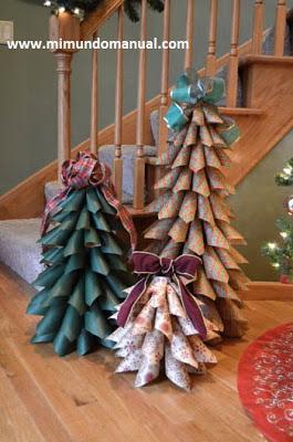 arboles-navideños-papel