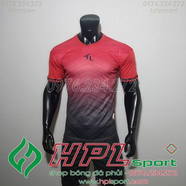Áo bóng đá không logo TL HML Rius Màu Đỏ