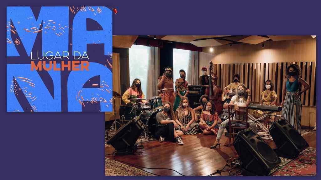 """Chega a todas as plataformas de streaming o EP """"Lugar da Mulher"""", resultado do trabalho de criação coletiva MANA - Mulheres Artistas de Niterói Apresentam"""