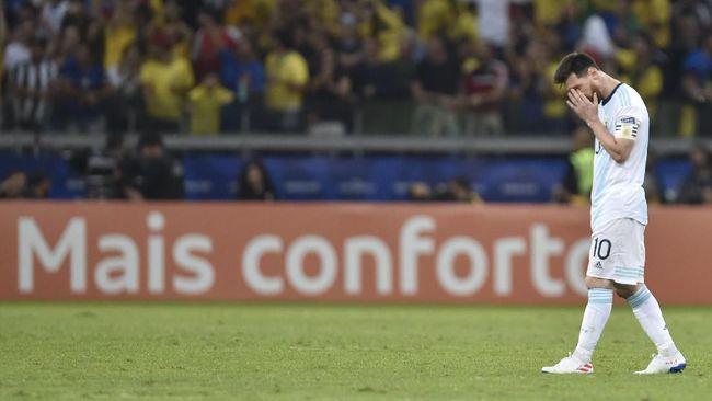 Lionel Messi Tidak Lagi Dihormati di Argentina