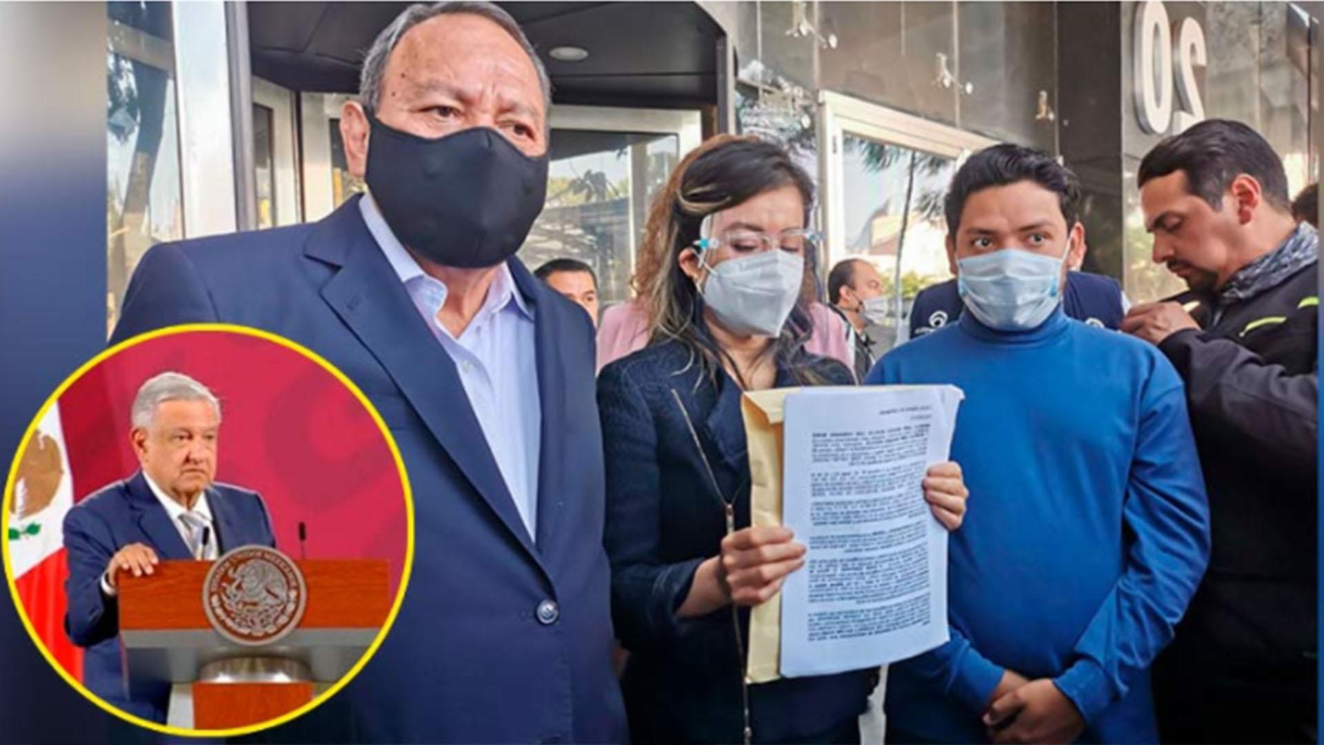 PRD denuncia penalmente a AMLO por omisión del robo de medicamentos contra el cáncer