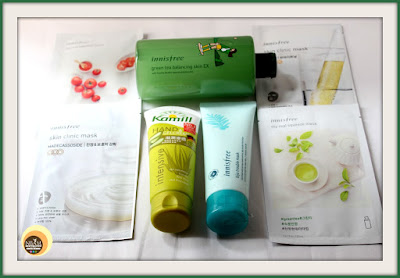 MINI SKINCARE HAUL FEAT. INNISFREE AND KAMILL
