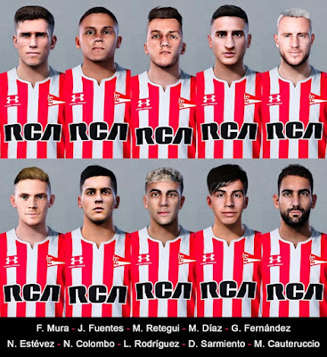 PES 2020 Faces Estudiantes Facepack by Nahue
